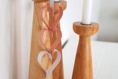 DIY: Hjerteranke af papirstrimler - StyleDesignCreate