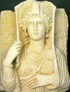 Funerary bust of a woman, Palmyra, c. 2nd century CE