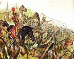 Драматическое сражение при Иссе с войском Александра: македонская экспансия означала конец политической независимости Греции.