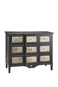 Glamour House Furniture  Dore Noire Apothecary Chest  $749.00