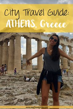 City Travel Guide to ATHENS, Greece! You only really need one day in Athens to hit the famous ruins and museums. See how to maximize one day in Athens.