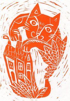 Hiromi Sumida Woodcut
