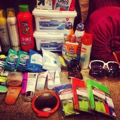 Packing for #bonnaroo #2012 (2)