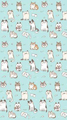 Wallpaper for iphone kawaii wallpaper, iphone wallpaper cat, kitten wallpaper, wallpaper gatos, Sparkle Wallpaper, Cat Wallpaper, Kawaii Wallpaper, Wallpaper Backgrounds, Cat Pattern Wallpaper, Iphone Wallpapers, Unique Wallpaper, Mobile Wallpaper, Seagrass Wallpaper