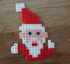 Perler Beads, Beading Patterns, Crafts For Kids, Crochet Necklace, Christmas, Diy, Holidays, Winter, Templates
