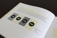 Hello Design Conference Brand Standards Manual on the Behance Network