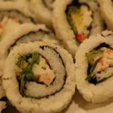California Roll Sushi Recipe. OMG I need to start making sushi.