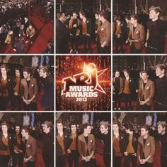 NRJ awards today in Cannes,France. The boys won best international award or as niall tweeted bed international award. ;)