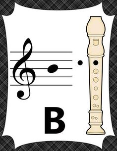Recorder Fingering Charts for Soprano Recorder ~ Music Room Décor (black) Online Music Lessons, Music Lessons For Kids, Music Lesson Plans, Music For Kids, Recorder Notes, Recorder Music, Teaching Orchestra, Teaching Music, Recorder Fingering Chart