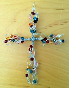 Wire cross--- simple & cute