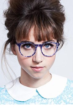 Leith Clark for Warby Parker, starring my childhood playmate Zoe Kazan - love these!