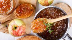 3x Vynikajúci jablkový recept! Pochutnajte si na domácej nutele, čatní či marmeláde - Pluska.sk Baked Potato, Cantaloupe, Salsa, Potatoes, Pudding, Baking, Fruit, Ethnic Recipes, Desserts