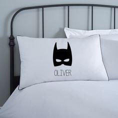 Taie d'oreiller Batman Coussins pour enfants par KokoBlossom