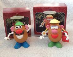 Hallmark Keepsake Ornament Mr. And Mrs. Potato Head Set Of 2 Christmas