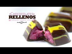 Escuela Mundo del Chocolate - Curso de chocolatería - Bombones rellenos - YouTube