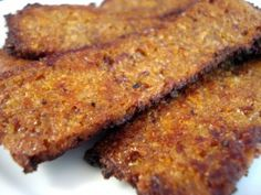 Finally Perfect Vegan Bacon You Can Make At Home (this one isn't tempeh)