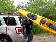 Homemade Pvc Kayak Loader Youtube Kayak Pinterest