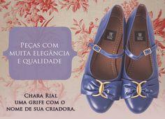 R$240 Sapatilha Mary Jane da Chara Rial. Clique para acessar a página do produto.