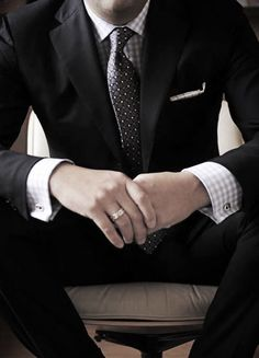 Suit, Tie, French Cuffs