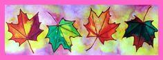 Listy se třpytkami