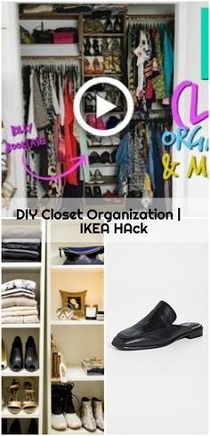 DIY Closet Organization | IKEA HAck , DIY Closet Organization | IKEA HAck #diy... ,  #Closet #DIY #Hack #Ikea #organization Ikea Organization Hacks, Closet Organization, Ikea Closet Organizer, Ikea Billy Bookcase Hack, Best Ikea, Shoe Rack, Diy, Bricolage, Handyman Projects