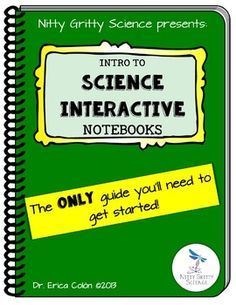 Science Interactive Notebook - Guide to getting started!This tutorial is for those who have tried or always wanted to try to utilize a Science Interactive Notebook in their classroom.  Science Interactive Notebooks are a great tool for students to process and understand science concepts in an engaging and creative way.