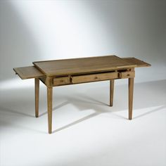Console Bureau Design Natura Bois Blanc Bureau design Bureaus