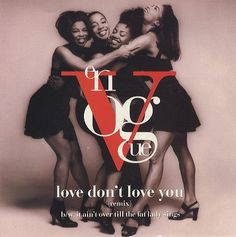 Assembled in Oakland, California in July En Vogue launched with original members Cindy Herron, Maxine Jones, Dawn Robinson and Terry Ellis. Dont Love, Love You, My Love, Jazz Artists, Music Artists, Change, Fat Women, Soul Music, Well Dressed
