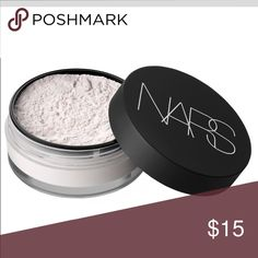 NARS translucent crystal light  setting powder Only used once to write a product review NARS Makeup Face Powder
