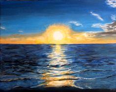 Peaceful Wave Sunset (gulf coast Florida)