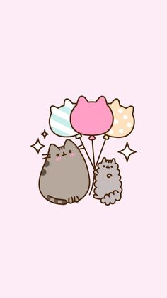 🌸Lil Princess🌸 — Pusheen/Stormy lockscreens requested by. Cute Kawaii Drawings, Kawaii Doodles, Cute Cat Wallpaper, Kawaii Wallpaper, Pusheen Stormy, Pusheen Love, Dibujos Anime Chibi, Miss Kitty, Cute Backgrounds
