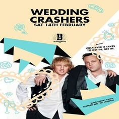 Wedding Crashers Valentine's Special at Bloomsbury Lanes, Basement of Travistock Hotel, Bedford Way, London, WC1H 9EU, UK on Feb 14, 2015 to Feb 15, 2015 at 9:00pm to 3:00am.  Two people coming together is one way to put it but first you have to find a way in This Valentine's Day Bloomsbury Lanes is hosting the Ultimate Wedding Crashers Party full of Single bridesmaids & Single grooms. URL: Facebook: http://atnd.it/20677-1 Category: Nightlife Prices: Before 11pm Free, After £3