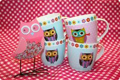 Owl cups