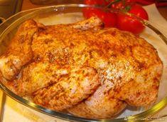 Pieczona kaczka - przepis ze Smaker.pl Tandoori Chicken, Poultry, Meat, Ethnic Recipes, Food, Products, Recipies, Backyard Chickens, Essen