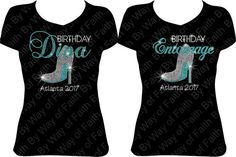 GROUP BUY Birthday Diva And Entourage With Heel 50th Party Celebration
