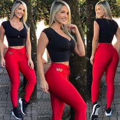 Lose Fat Fast: Target Body Weight Loss Areas No matter what your current weight is, everyone has fat on their body. Yoga Pants Girls, Yoga Pants Outfit, Sport Outfits, Cute Outfits, Best Tank Tops, Workout Attire, Pants For Women, Clothes For Women, Sporty Girls