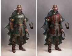 Lord of the Rings game concept art by Wesley Burt