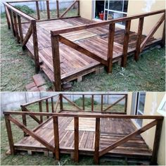 wood pallet terrace ideas 40
