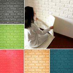 Wall Foam Sticker hadir untuk mempercatik ruangan anda dengan Motif Timbul Batu Bata 3D dan sangat mudah untuk pemasangannya  karena berbentuk panel 1m x 0.5m dan tidak selalu membutuh bidang dinding yang selalu perfect.  Dengan mengikuti perkembangan jaman yang ada membuat kami dapat memenuhi semua selera dekorasi interior baik itu untuk rumah tinggal maupun bangunan komersial sekalipun.  Silahkan hubungi kami secara langsung untuk mendapatkan harga promo atau bisa melalui WA : 081234560922