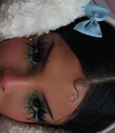 Cool Makeup Looks, Cute Makeup, Pretty Makeup, Skin Makeup, Beauty Makeup, Hair Beauty, Unique Makeup, Simple Makeup, Aesthetic Makeup