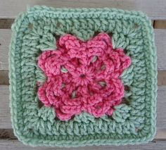 "Ravelry: Spring Loops 6"" Square pattern by Aurora Suominen"