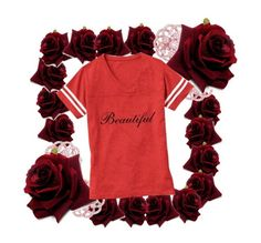 """""""Beautiful Tees"""" by vanidclothing ❤ liked on Polyvore featuring Emilio!, beautiful, zazzle and vanidclothing"""