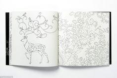 Sus libros para colorear para los adultos cuentan muy bien dibujados mano y ejemplos capri...
