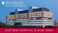 Completed in 2013 in Chicago, United States. Images by Tom Rossiter . Rafael Viñoly Architects is proud to announce that the million-square-foot Center for Care and Discovery at the University of Chicago. Top Hospitals, Chicago University, Chicago School, New Hospital, Washington Park, Doctor In, Master Plan, Medical School, Discovery