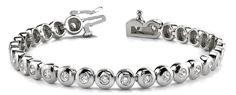 Diamantarmband 3.10 Karat aus 585er/750er Gelb- oder Weißgold  #diamantarmband #diamonds #diamante #diamanten #gold #schmuck #diamantschmuck #juwelier #abt #dortmund #brillant #armband #armschmuck #hochzeit