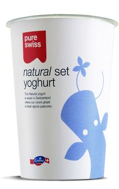 Emmi Swiss yoghurt - a coming home for the eyes! love it.