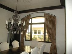 1000 Images About Arch Window Treatments On Pinterest