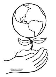 Earth Day Coloring Pages - Preschool and Kindergarten Earth Day Coloring Pages, Free Coloring Pages, Printable Coloring Pages, Coloring Books, Planet Crafts, Earth Day Crafts, Kindergarten Coloring Pages, Earth Day Activities, Therapy Activities