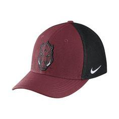 Nike™ Men's University of Arkansas Classic99 Cap (Red Medium, Size Flex Fit) - NCAA Licensed Product, NCAA Men's Caps at Academy Sports