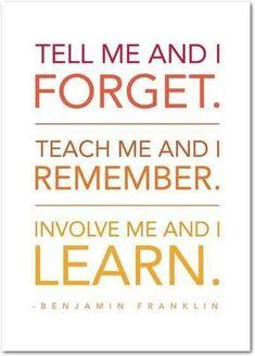 Involve me!